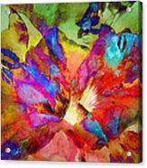 Hibiscus Abstract Acrylic Print