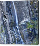 Hickory Nut Falls Chimney Rock State Park Acrylic Print