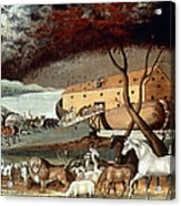 Hicks: Noahs Ark, 1846 Acrylic Print by Granger