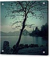 Hidden Bay Acrylic Print