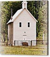 Hidden Church Acrylic Print