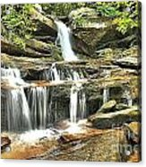 Hidden Falls At Hanging Rock Acrylic Print