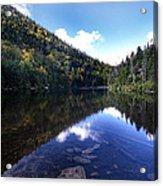 Hidden Mountain Pond  Acrylic Print