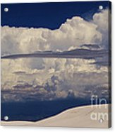 Hidden Mountains In The Shadows Of The Storm Acrylic Print