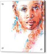 Hidden Tears Acrylic Print