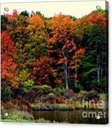 Hidden Valley Lake Acrylic Print