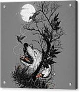 Hide Acrylic Print