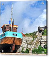 High And Dry Acrylic Print by Graham Taylor