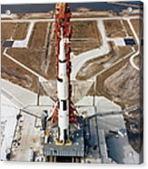 High-angle View Of The Apollo 10 Space Acrylic Print