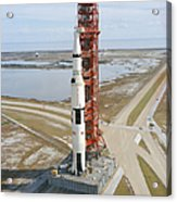 High Angle View  Of The Apollo 14 Space Acrylic Print