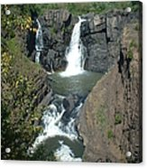 High Falls Grand Portage Acrylic Print