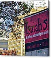 High Line Print 32 Acrylic Print