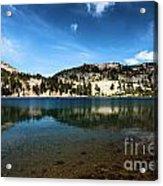 High Mountain Paradise Acrylic Print