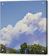 High Park Fire Larimer County Colorado  Acrylic Print by James BO  Insogna