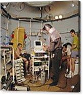 High-pressure Training Research Acrylic Print