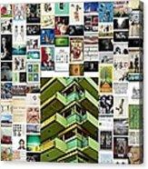 High Rise Apartment Building Acrylic Print