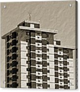 High Rise Apartments Acrylic Print