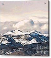 High Sierra Mountains Acrylic Print