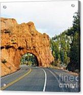 Highway 12 In Utah Acrylic Print