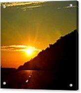 Highway Sunrise 2 Acrylic Print