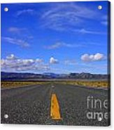 Highway To Nowhere Acrylic Print