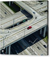 Highways In Fort Lauderdale, Fl Acrylic Print