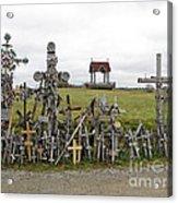 Hill Of Crosses 01. Lithuania Acrylic Print