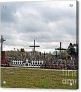 Hill Of Crosses 05. Lithuania Acrylic Print