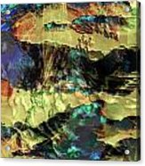 Hills Of Gold Acrylic Print by Monroe Snook
