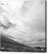 Hillside Meets Sky Acrylic Print