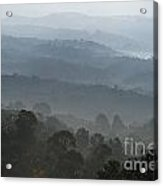 Hilly Country Acrylic Print