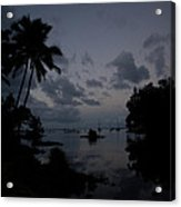 Hilo Harbor Sunset  Acrylic Print