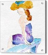 Hilo Hattie Fashionista Acrylic Print