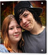 Him 'n Her - Young Lovers Acrylic Print