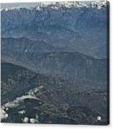 Himalaya Mountains Of Nepal Acrylic Print