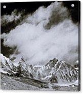 Himalayan Mountain Range Acrylic Print