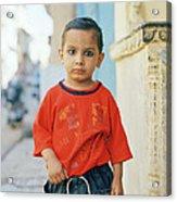 A Brahmin Boy Acrylic Print