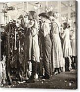 Hine: Child Labor, 1910 Acrylic Print