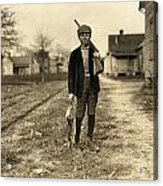 Hine: Hunter, 1908 Acrylic Print