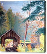 Hints Of Fall Acrylic Print