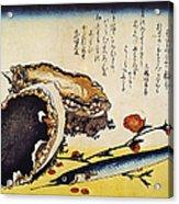 Hiroshige: Color Print Acrylic Print
