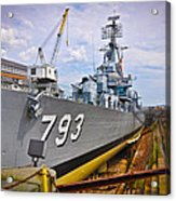 Historic Boston Ship Acrylic Print