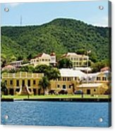 Historic Christiansted Acrylic Print