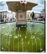 Historic Fountain Acrylic Print by Sabino Parente