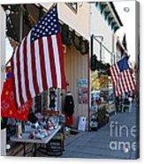 Historic Niles District In California Near Fremont . Main Street . Niles Boulevard . 7d10692 Acrylic Print