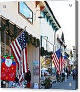 Historic Niles District In California Near Fremont . Main Street . Niles Boulevard . 7d10693 Acrylic Print