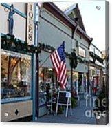 Historic Niles District In California Near Fremont . Main Street . Niles Boulevard . 7d10701 Acrylic Print