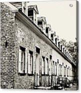 Historic Row Homes Allaire Village Acrylic Print