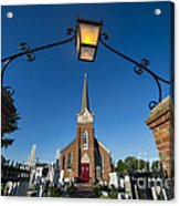 Historic St Peter's Episcopal Church Acrylic Print