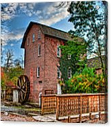 Historic Woods Grist Mill Acrylic Print